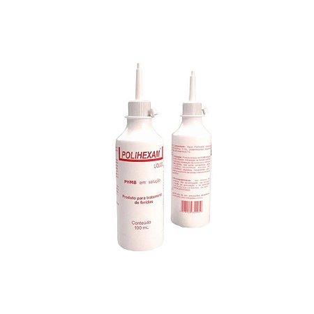 Polihexam Líquido PHMB 0,1% para Tratamento de Feridas