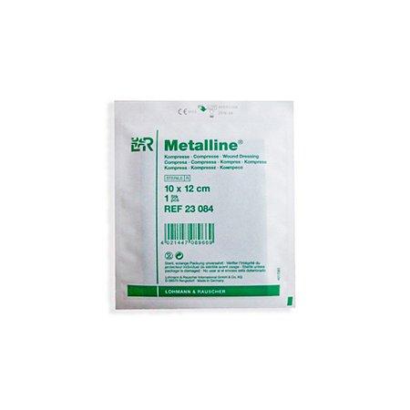 Curativo Compressa Não Aderente 10x12cm - Metalline