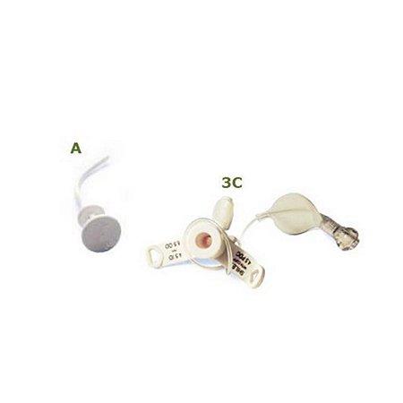 Cânula Shiley PDC para Traqueostomia com Balão de uso Pediátrico e Neonatal - Unidade