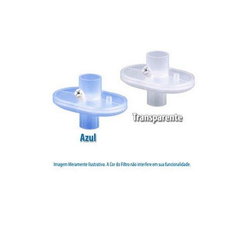 Filtro Barreira Bacterial e Viral Eletrostático Hidrofóbico com Conexão Reta - Unidade