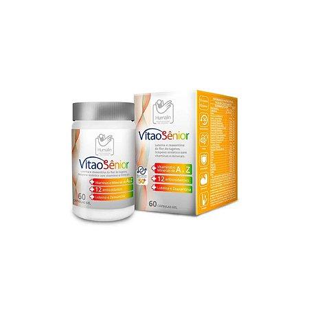 Antioxidante VITAO SÊNIOR, Vitaminas para o Seu Dia a Dia - 60 Cápsulas