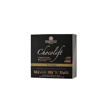 Chocolate com Whey Protein Chocolift BE - Caixa com 8 Barras