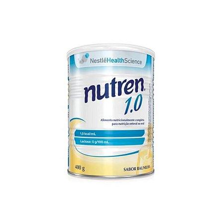 Nutren 1.0 Cal, Baunilha de 400g da Nestlé - Unidade