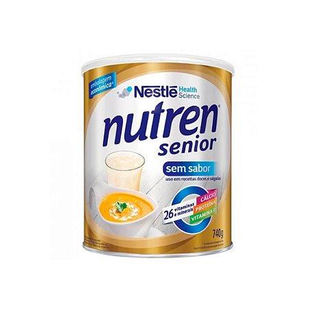 Nutren Senior em Pó, Sem Sabor de 740g da Nestlé - Unidade