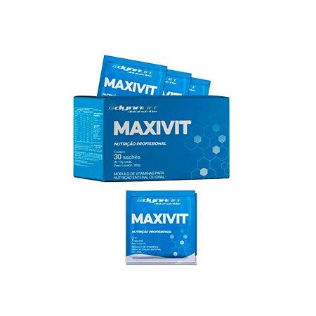 MAXVIT Módulo de Vitaminas para Nutrição Enteral ou Oral - 30 Sachês