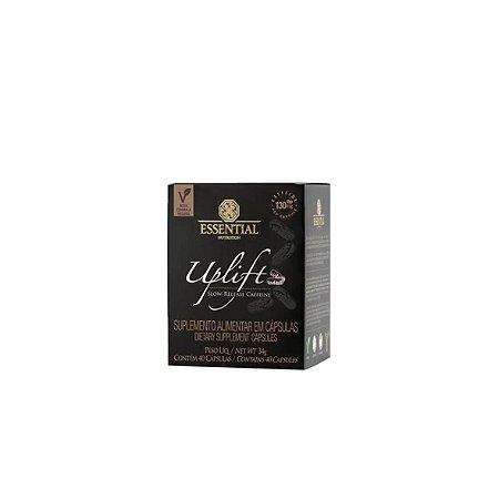 UPLIFT Cápsulas de Cafeína com óleo de Cártamo - 40 Cápsulas