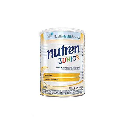 Nutren Junior 1.0 Cal de 400g, Sabor Baunilha da Nestlé - Unidade