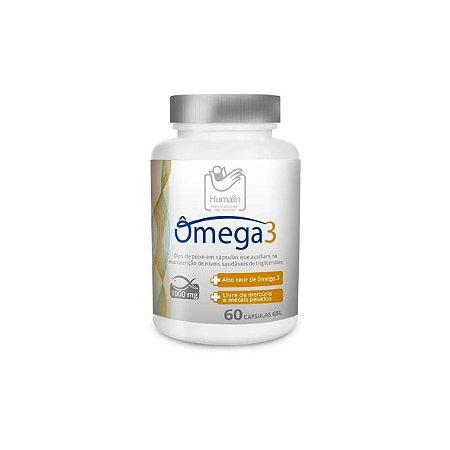Suplemento Alimentar Ômega 3 - 60 Cápsulas Gel