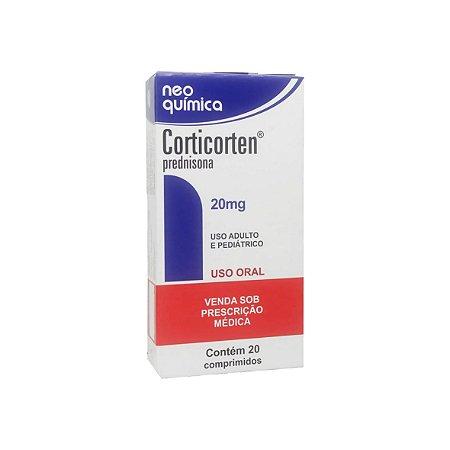 Corticorten 20mg da Neo Química - 20 comprimidos