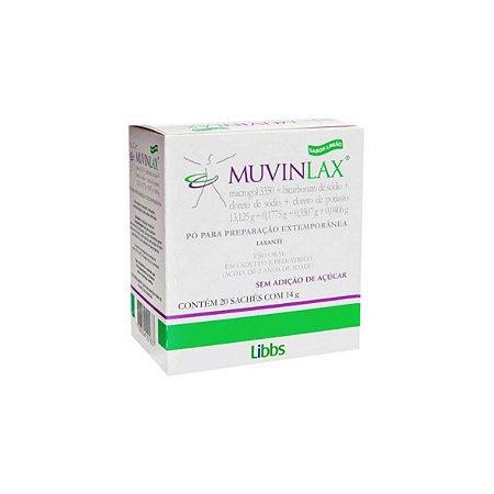 Muvinlax 20 Envelopes da Libbs - 14g Unidade