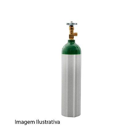 Oxigênio Medicinal, Carga com Cilindro Completo - Disponível