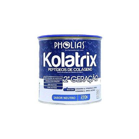 Kolatrix 2ª Geração, Suplemento Alimentar de Colágeno 250gr, Sabores - Unidade
