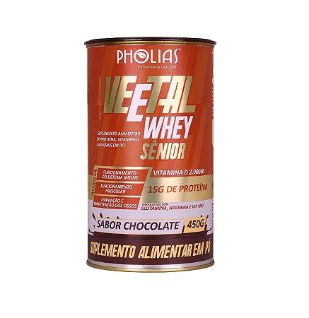 Veetal Whey SENIOR Pholias, Suplemento Alimentar de Proteína, 500gr - Unidade