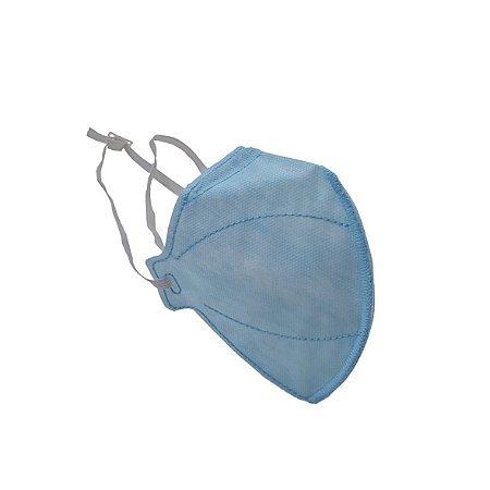 Máscara Descartável PFF2, N95 (95% de Filtração Bacteriana), sem Válvula - Unidade