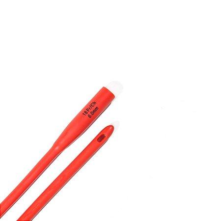 Sonda Nelaton Estéril com 1(Um) Furo da Rusch - 10 Unidades