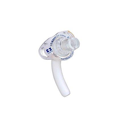 Cânula de Traqueostomia Flexível Shiley sem Balão, Reutilizável (Tapeguard) - Adulto