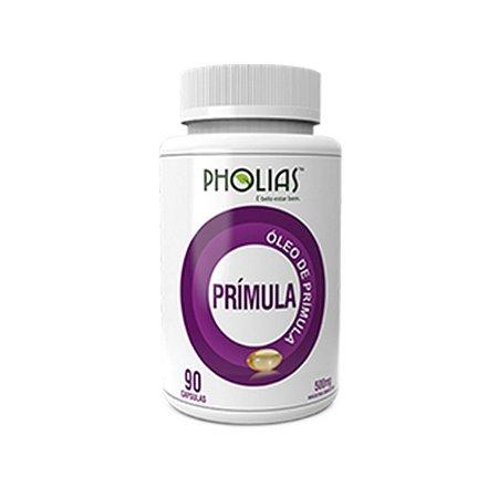 Óleo de Prímula 500mg com 90 Cápsulas da Pholias - Unidade