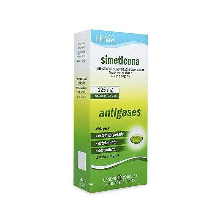 Simeticona 125mg da Althaia - Caixa 10 Comprimidos