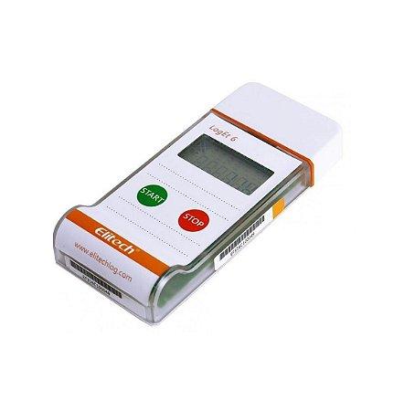 Loget6 Datalogger Controle de Temperatura (-30 a 70º), Descartável - Unidade