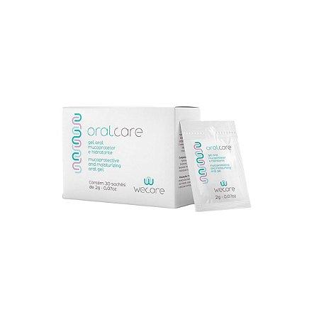 Oralcare em Gel para Tratamento da Mucosite da Wecare - Caixa com 30 sachês