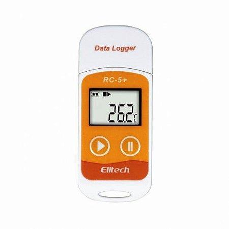 Datalogger RC-5+ Controle de temperatura (-30 A 70°C), leitura USB
