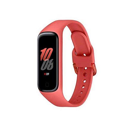 Galaxy Fit 2 Samsung Vermelho, Pulseira Vermelha de Silicone da Samsung - Unidade