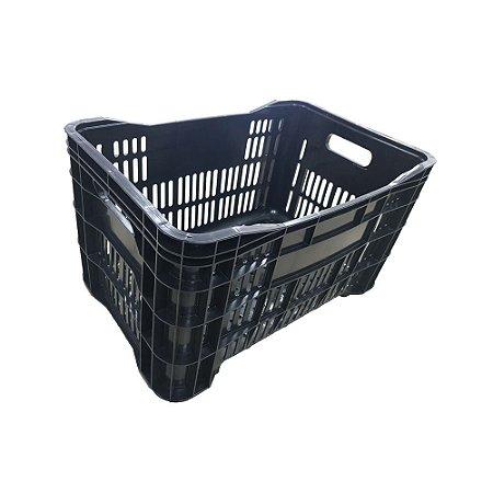 Caixa Multiuso PRETA Reciclado (Hortifruti)
