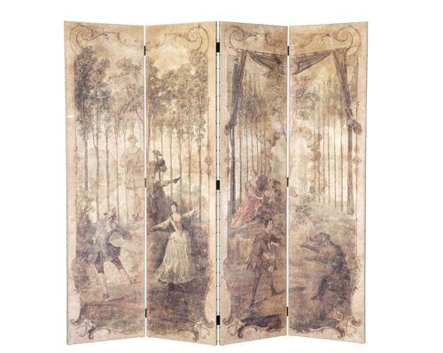 Biombo cena 2 madeira