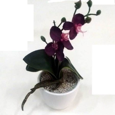 Flor artificial orquídea