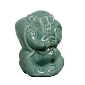 Macaco mudo verde