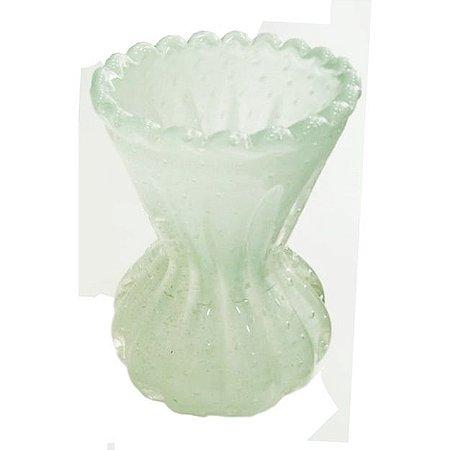 Vaso murano M verde
