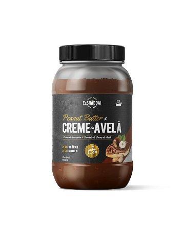 Creme de Amendoim Whey Creme de Avelã Zero açucar 500g