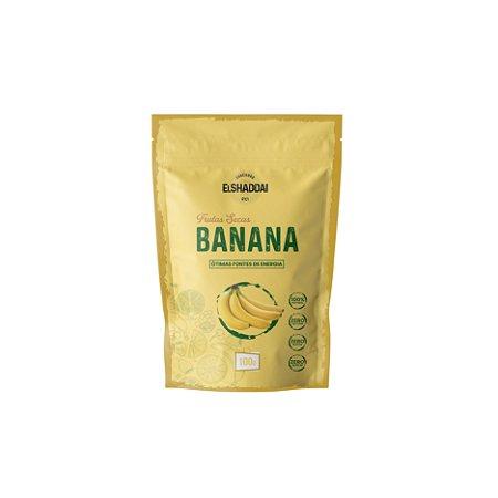 Banana desidratada - 100g