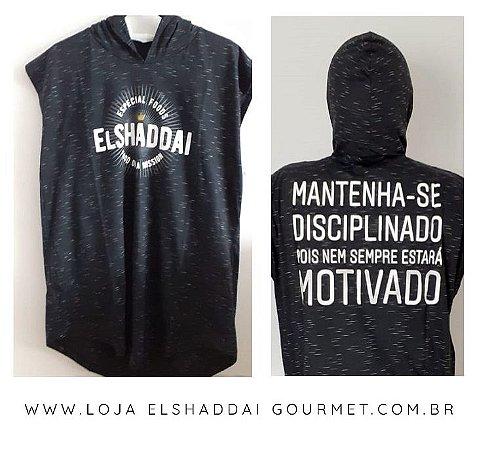 El Shaddai Store - Camiseta motivação com capuz!