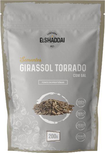 SEMENTE GIRASSOL TORRADO - 100G