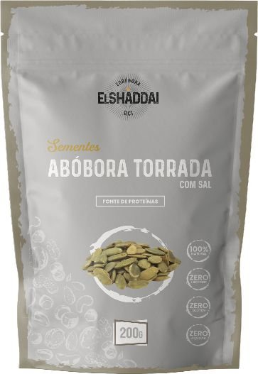 SEMENTE ABÓBORA TORRADA - 100G