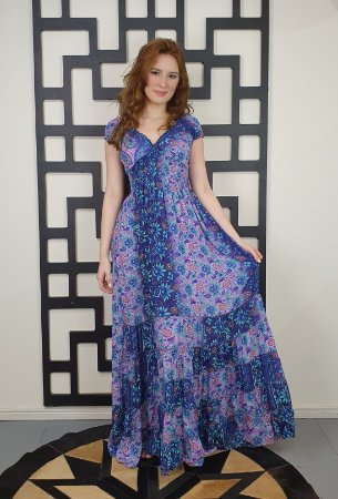 Vestido Iris Longo
