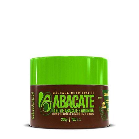 Máscara Nutritiva de Abacate 300gr - Glatten