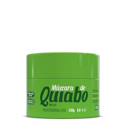 Máscara Quiabo Desintoxicação 250g - Glatten