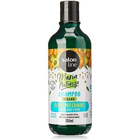Shampoo Maria Natureza Óleos Milenares - Salon Line 350ml