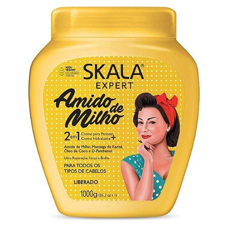 Creme de Tratamento Expert Amido de Milho 2 em 1 - Skala 1kg