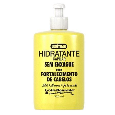 hidratante capilar (sem enxágue) - Gota Dourada