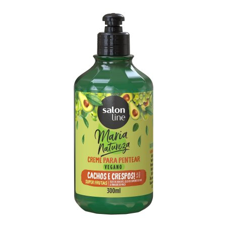 Creme de Pentear Maria Natureza (Super Frutas Cachos e Crespos) - Salon Line