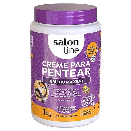 Brilho Máximo creme de pentear 1k - Salon Line