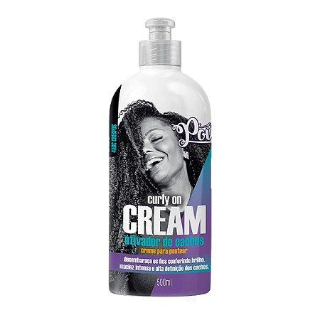 Soul Power Ativador de cachos -Curly on cream (creme para pentear)500ml