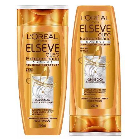 Elseve Óleo extraordinário Cachos (Shampoo e condicionador)