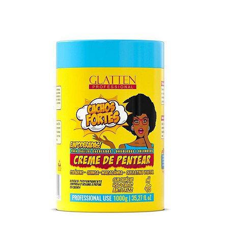 Creme De Pentear Cachos Do Poder 1kg - Glatten