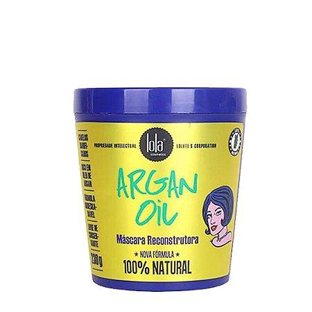 Máscara Reconstrutora Argan Oil 230g - Lola Cosmetics