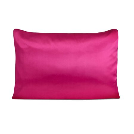 Fronha de Cetim Anti frizz - Pink