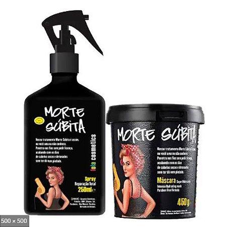 Kit Mascara Morte Subita + Spray - Lola Cosmetics 450g